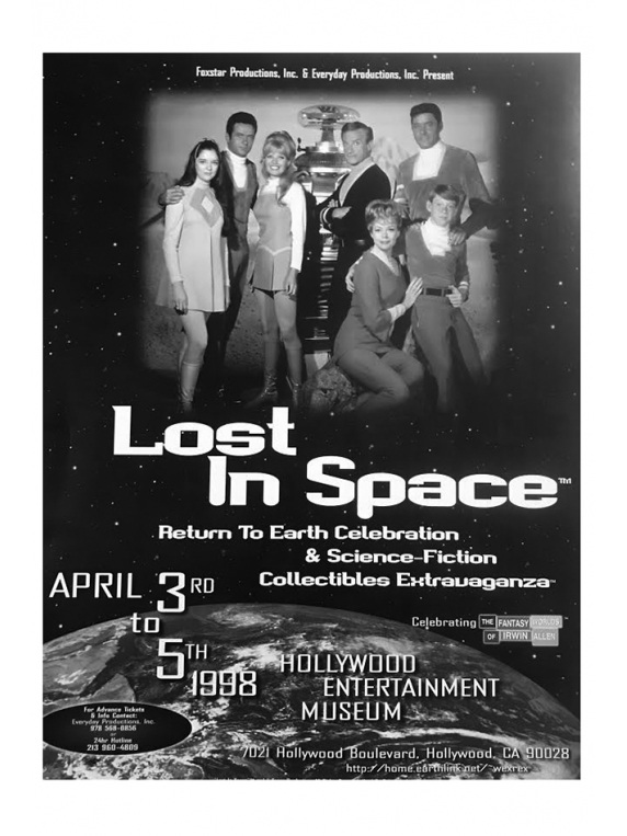 #92 vintage Lost In Space poster