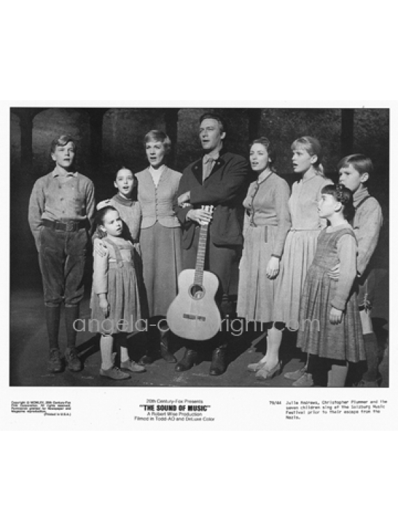 #58 On Stage cast photograph-The Sound Of Music
