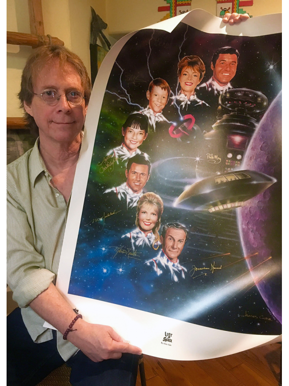 Lost In Space lithograph