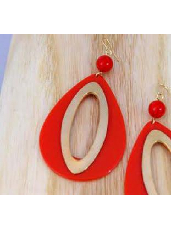 Groovy Teardrop Earrings