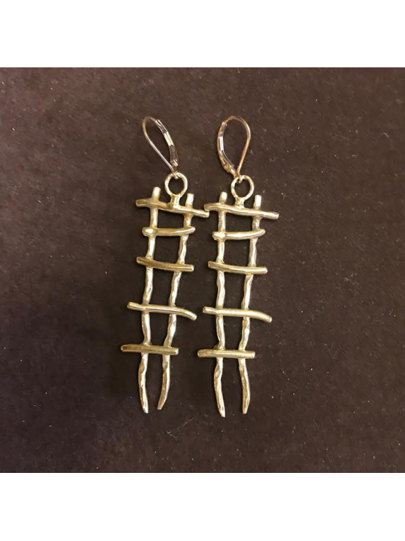 Purpose Ladder Earring gold filled