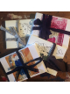 unruly girl sketch note cards tied with ribbon