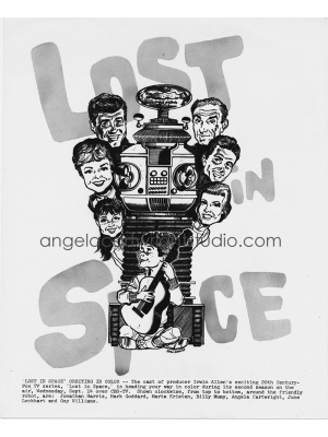 86 Lost In Space Vintage Illustration