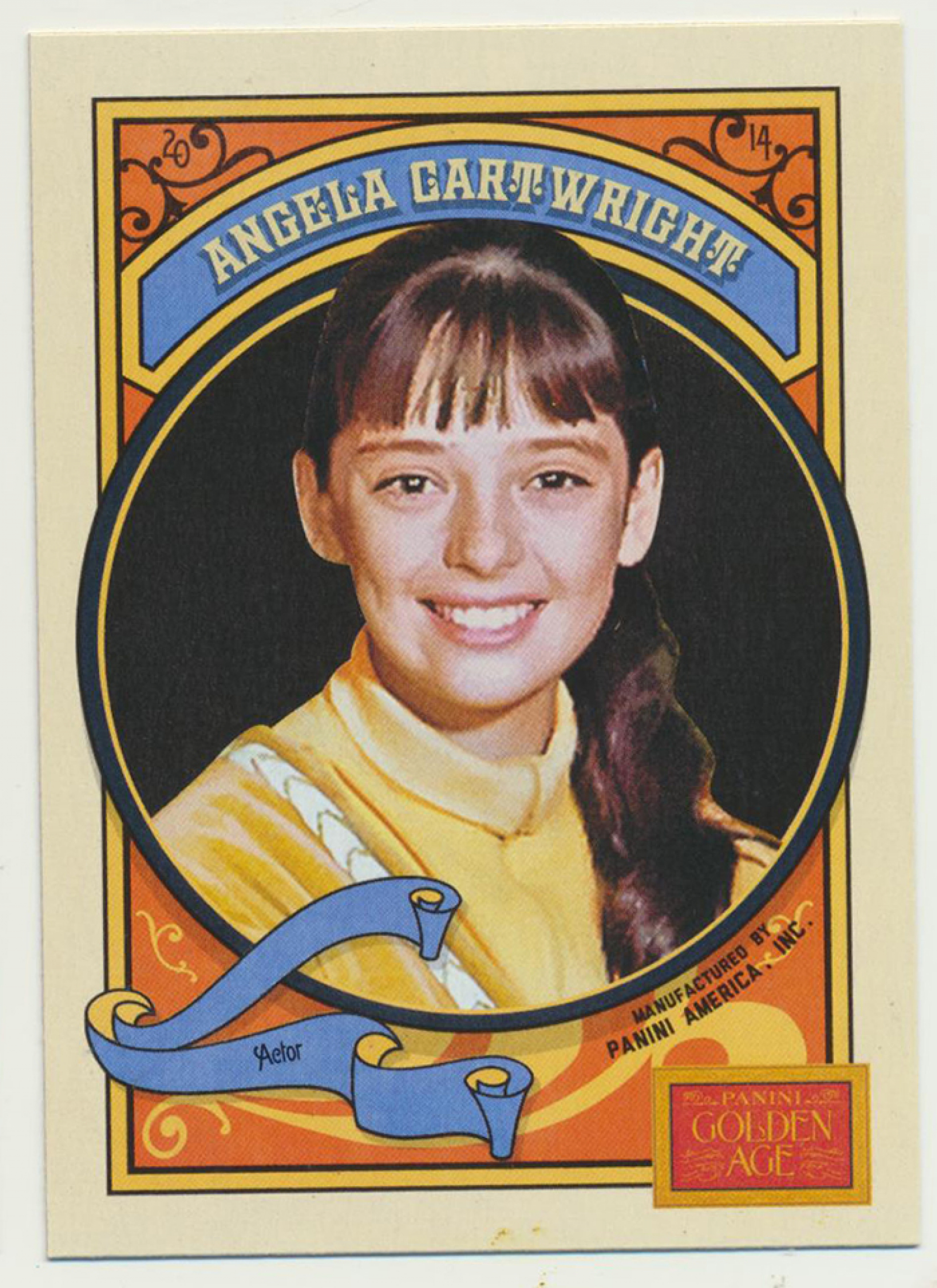 32 Angela Cartwright Golden Age Trading Card