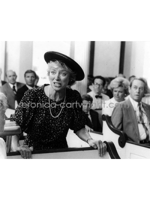 #61 Felicia in church-Witches Of Eastwick