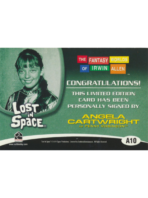 48 Lost In Space Fantasy Worlds Trading Card