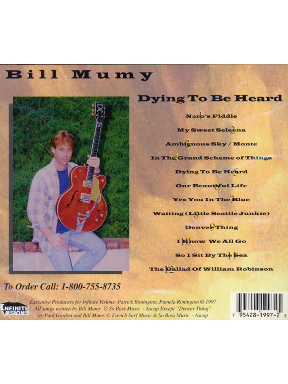 Dying To Be Heard CD