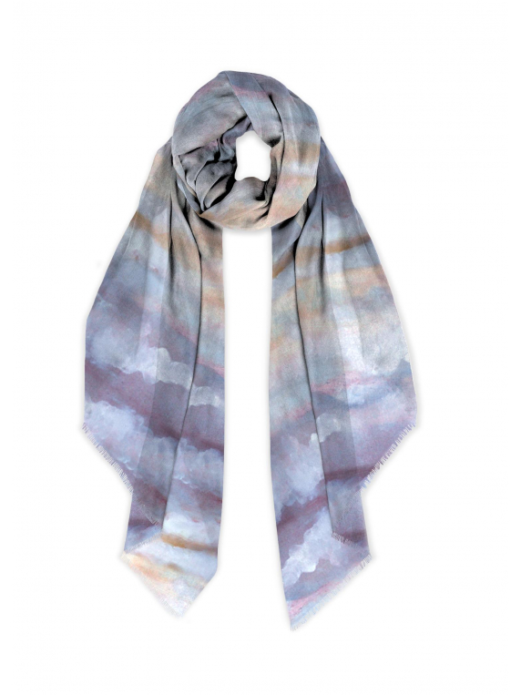 Cloudy scarf