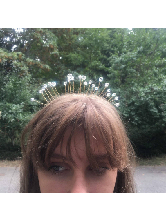 Forest Fairy Crystal Crown