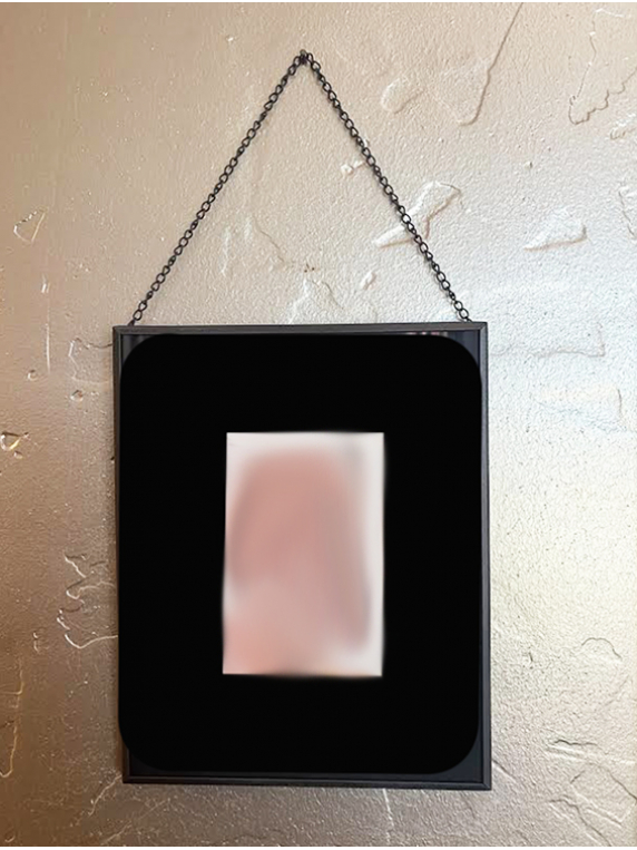 mat and frame with chain