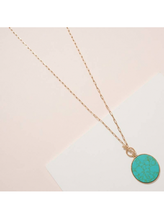 Full Moon Long Necklace