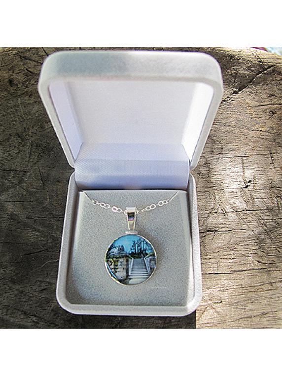 sterling silver pendant-lions share