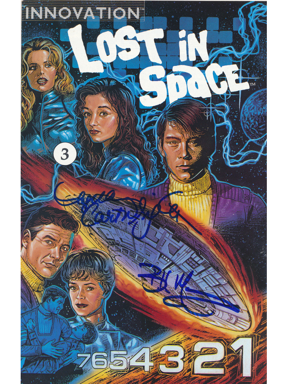 Signed Issue 3 Lost In Space Comic Book