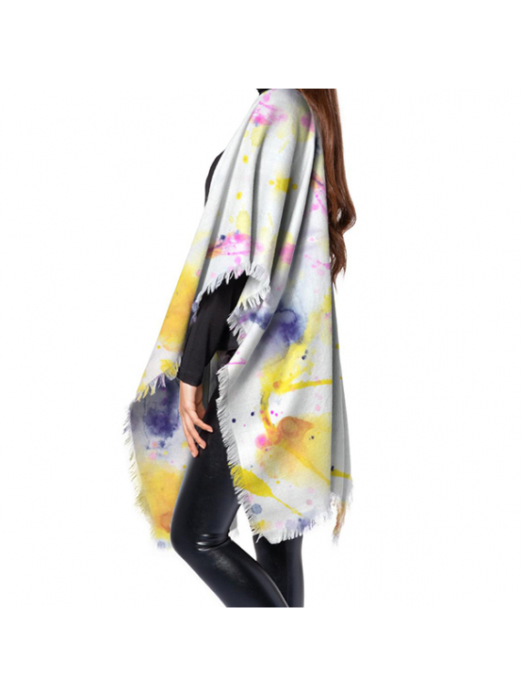 Minds Eye Wool Poncho