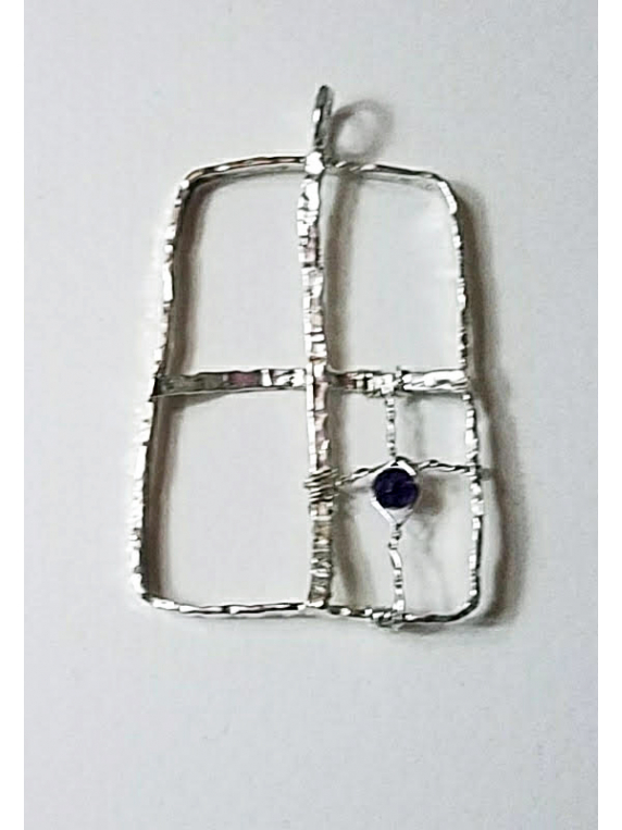 Light In The Window Pendant with gem