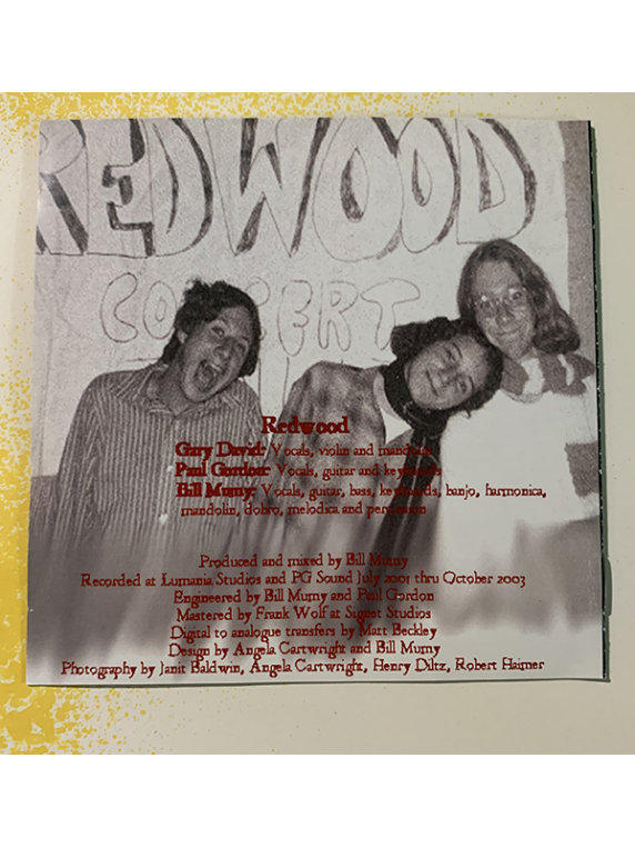Redwood-Lost, But Not Really CD