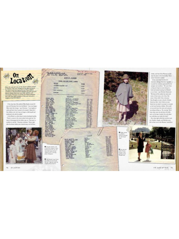 The Sound Of Music Family Scrapbook inside
