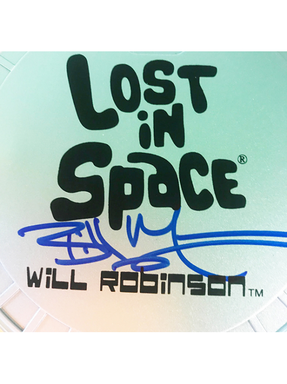 Signed 'Will Robinson' Action Figure Stand