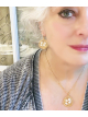 Aerie earrings & necklace