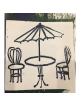AC Stencil - Bistro Table & Chairs