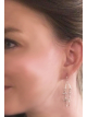 Purpose Ladder Earring South dangle back