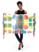 Paint Chips - cotton scarf