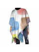 Paint Chips Wool Poncho