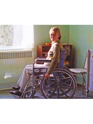 #85 X-Files Wheelchair