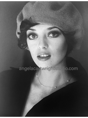 #131 Angela in a beret
