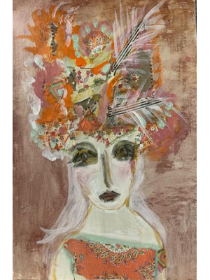 Lily - Mixed Media Original