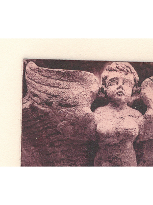 Angel etching