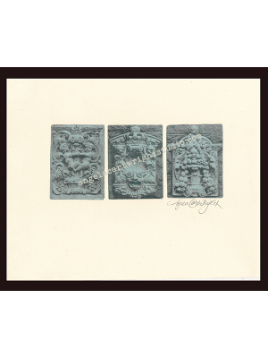 Triptych etching #107