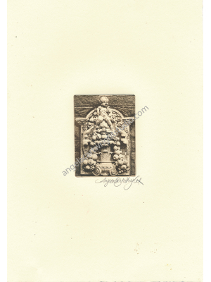 cherubs etching #109