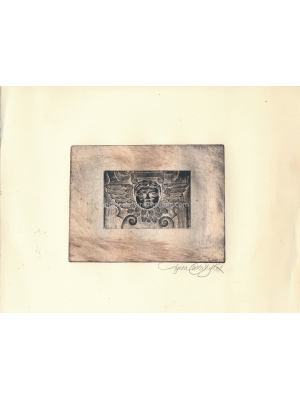 Doheny angel etching #115