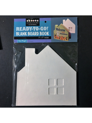 home shaped book