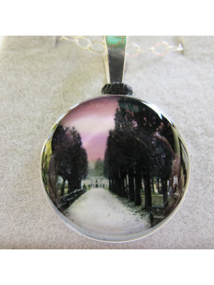 sitting room sterling silver pendant