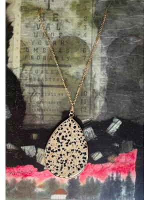 Stone-cold Long Necklace