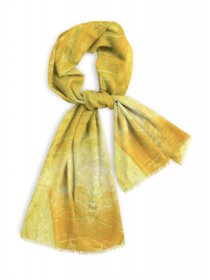 Sunburst - cotton scarf