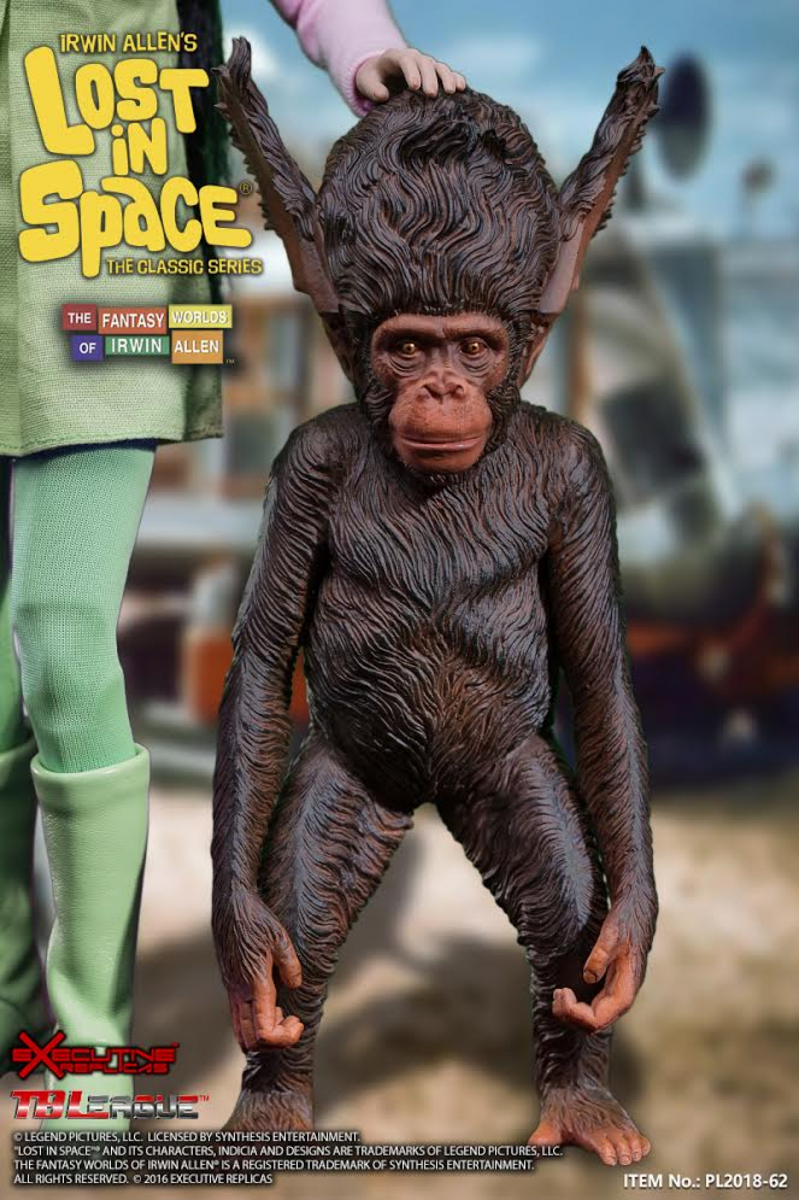 """Figure for 6-8/"""" PENNY Robinson Figure 3D Printed Baby Lost in Space BLOOP"""