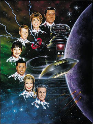 #200 Lost In Space Lithograph signed by cast
