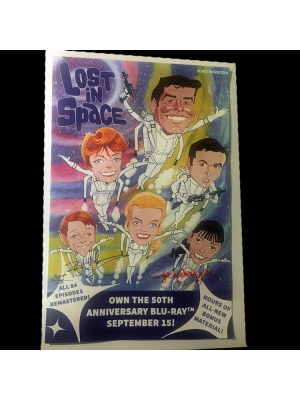 #201 Lost In Space BluRay poster
