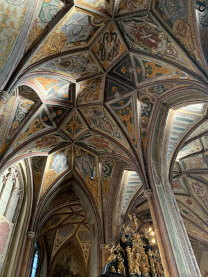 Beautiful church ceiling