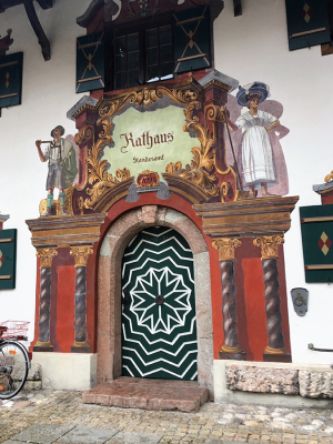 Decorated building - Ruhpolding