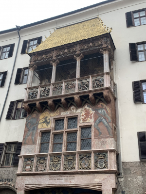 The Golden Roof in Innsbruck