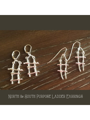 Purpose Ladder Earrings-AC original