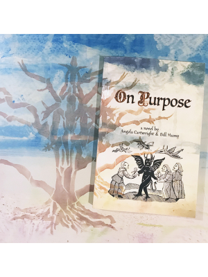 On Purpose 6 x 9 paperback book with signature