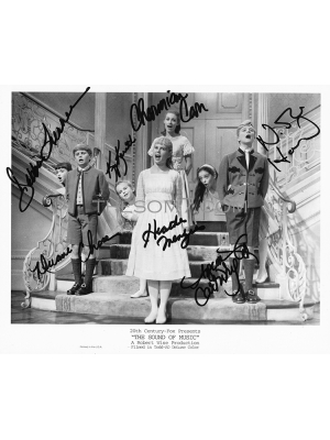 #102 So Long-Sound of Music SOM7 signed photograph