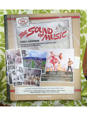 The 50th Anniversary Sound Of Music Family Scrapbook  - Autographed with Pic